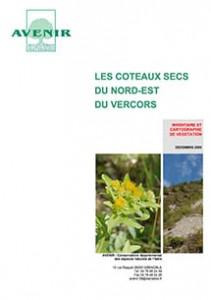 Coteaux secs du Nord-Est du Vercors : Inventaire et cartographie de végétation 2005
