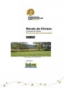 Marais de Chirens - Plan de préservation et d'interpretation 2014-2018