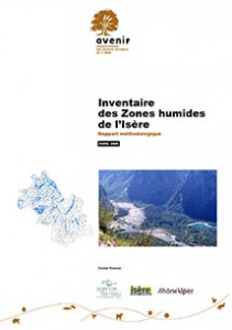 Inventaire des Zones humides de l'Isère - Rapport méthodologique