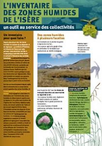 Présentation de l'inventaire des zones humides de l'Isère