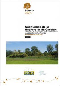Plan de gestion de la confluence de la Bourbre et du Catelan