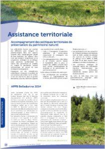 L'animation territoriale du CEN Isère en 2014