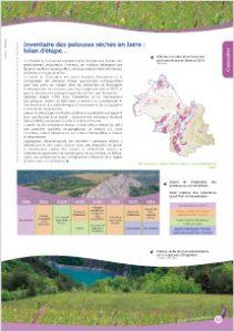 Bilan intermédiaire de l'inventaire des pelouses sèches de l'Isère. 2014