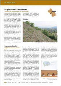 Inventaire des pelouses sèches du plateau de Chambaran