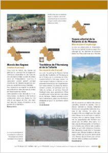 Marais des Sagnes - Feuille de chêne n°41 - Février 2014