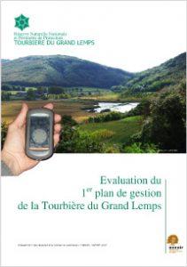 Évaluation du plan de gestion de 1997 de la RNN de la Tourbière du Grand Lemps